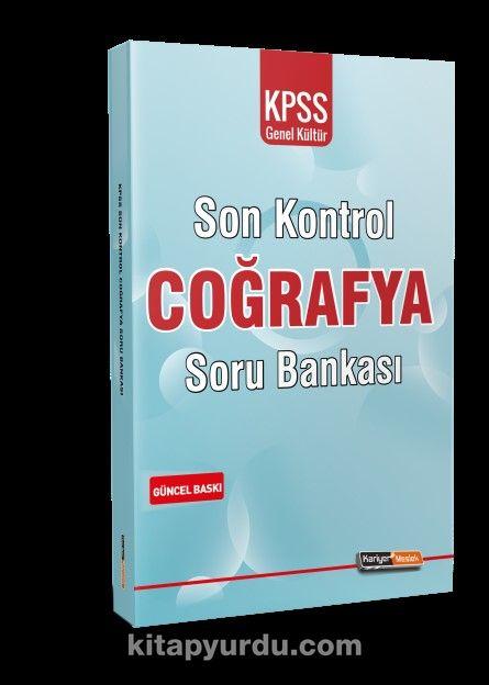 2021 KPSS Genel Kültür Coğrafya Son Kontrol Soru Bankası