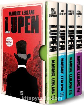 Arsen Lupen-Kutulu Siyah Set (4 Kitap Takım)