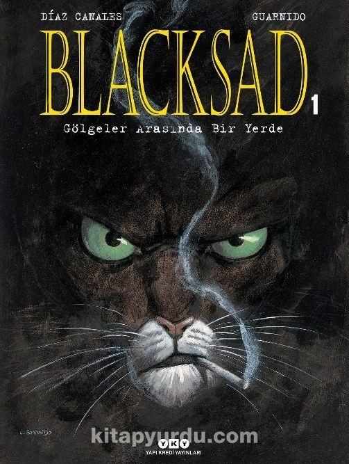 Blacksad 1.Cilt (Karton Kapak) - Gölgeler Arasında Bir Yerde