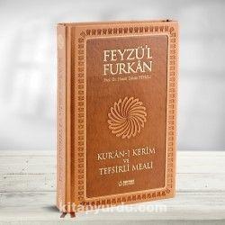 Feyzü'l Furkan Kur'an-ı Kerîm ve Tefsirli Meali (Büyük Boy - Mushaf ve Meal - Mıklepli) Taba