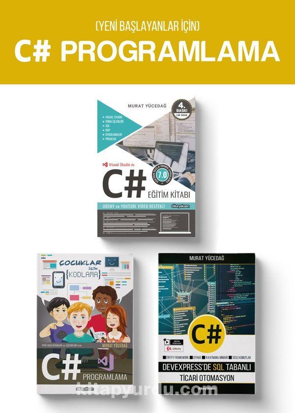 Yeni Başlayanlar için C# Programlama (3 Kitap)